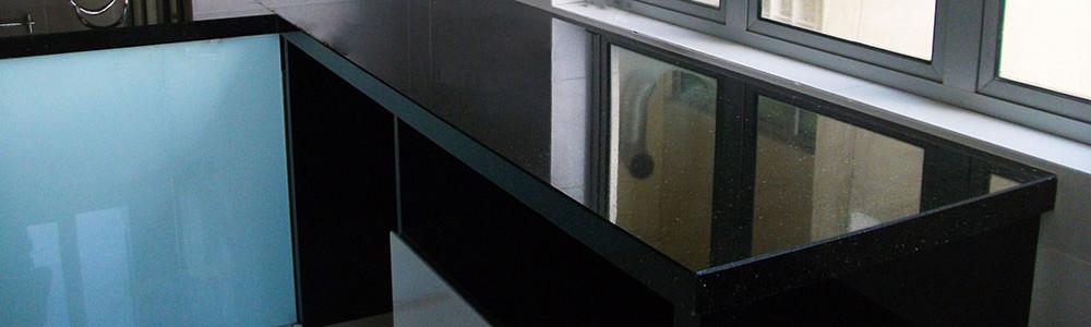 Malaysia Countertops Kabinet Dapur Worktops Quartz Marble Granite Permukaan Pepejal 2