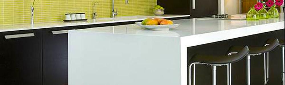 Malaysia Countertops Kabinet Dapur Worktops Quartz Marble Granite Permukaan Pepejal 3